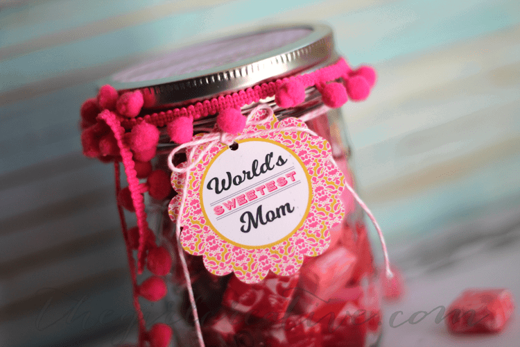 Mother S Day Candy Jar