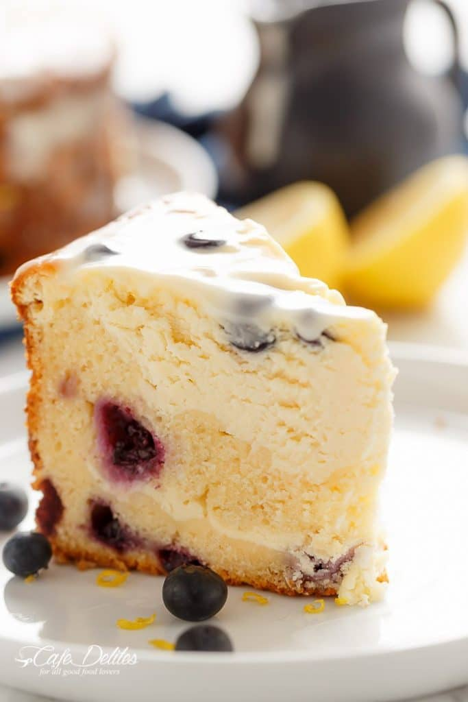 Blyeberry Lemon Cake