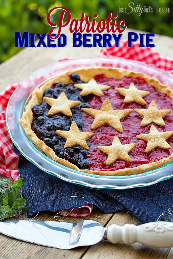 Patriotic-Mixed-Berry-Pie-from-ThisSillyGirlsLife