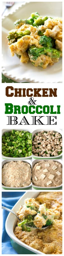Chicken and Broccoli Bake - a tried and true recipe that we've been making for years. the-girl-who-ate-everything.com