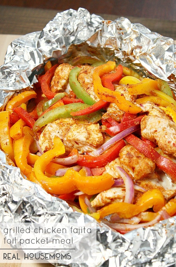 Easy foil packet camping recipes