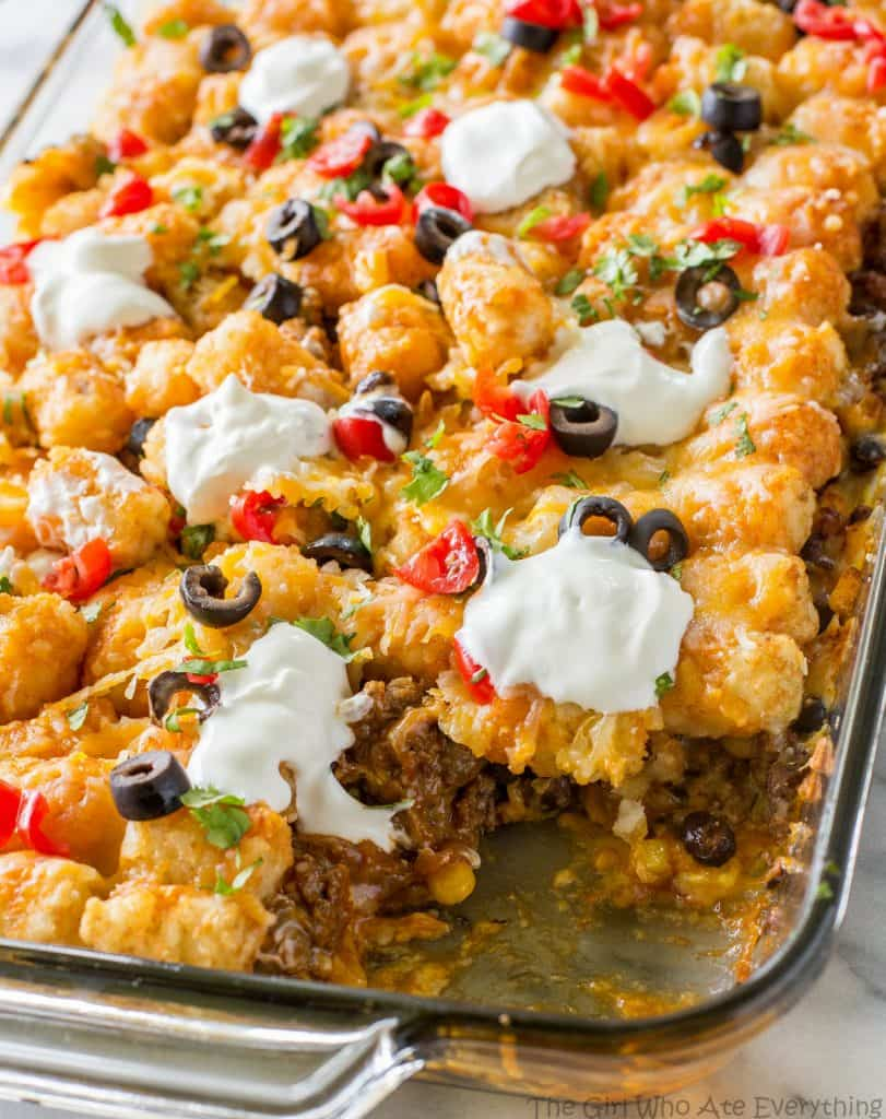 Tater Taco Casserole , The Girl Who Ate Everything