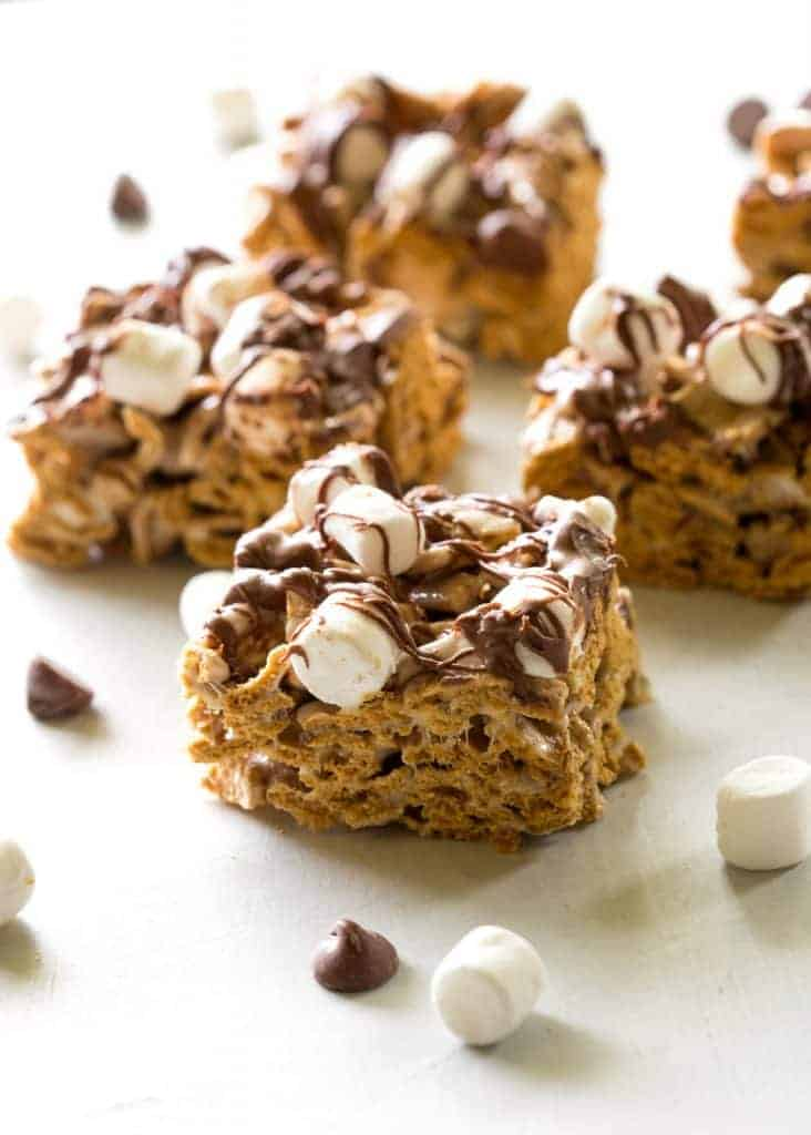 No Bake S Mores Treats Only 4 Ings And Taste Just Like