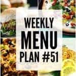 Weekly Menu Plan #51