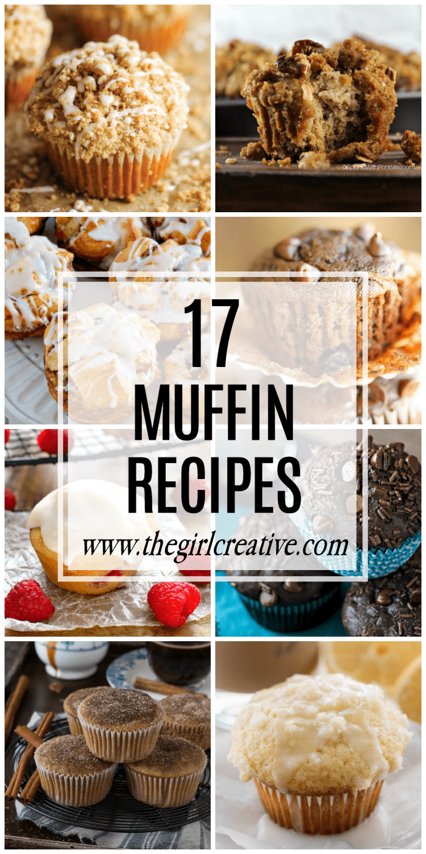 17 Muffin Recipes