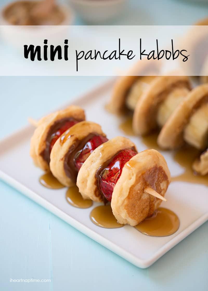 Mini-pancake-kabob