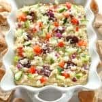 Greek Layered Hummus