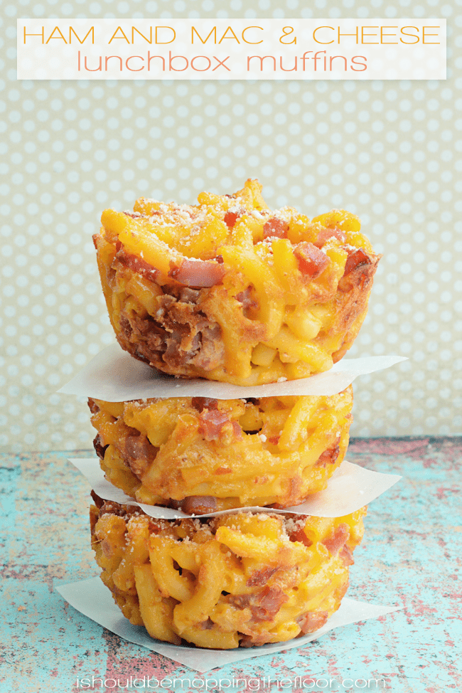 mac and cheese muffins