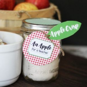 Apple Crisp Teacher Gift