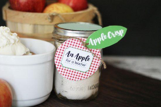 Apple Crisp Teacher Gift