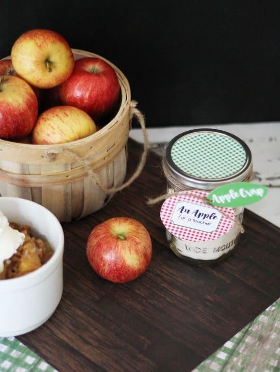 An Apple for a Teacher Apple Crisp Teacher Gift