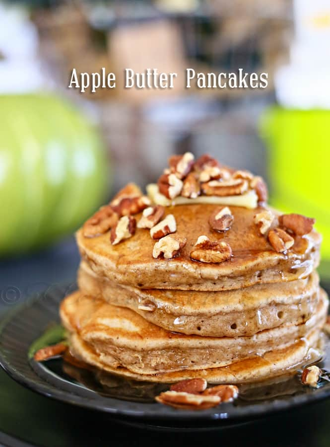 Apple-Butter-Pancakes