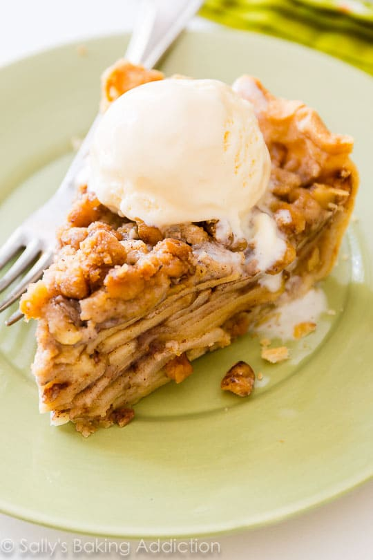 Apple Pie Crumble-Sallys Baking Addition