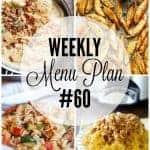 Weekly Menu Plan #60 HERO