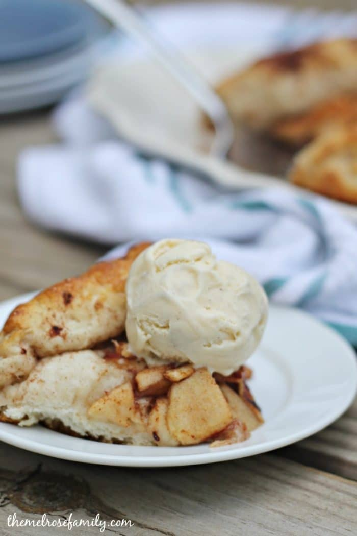 apple pie crostata