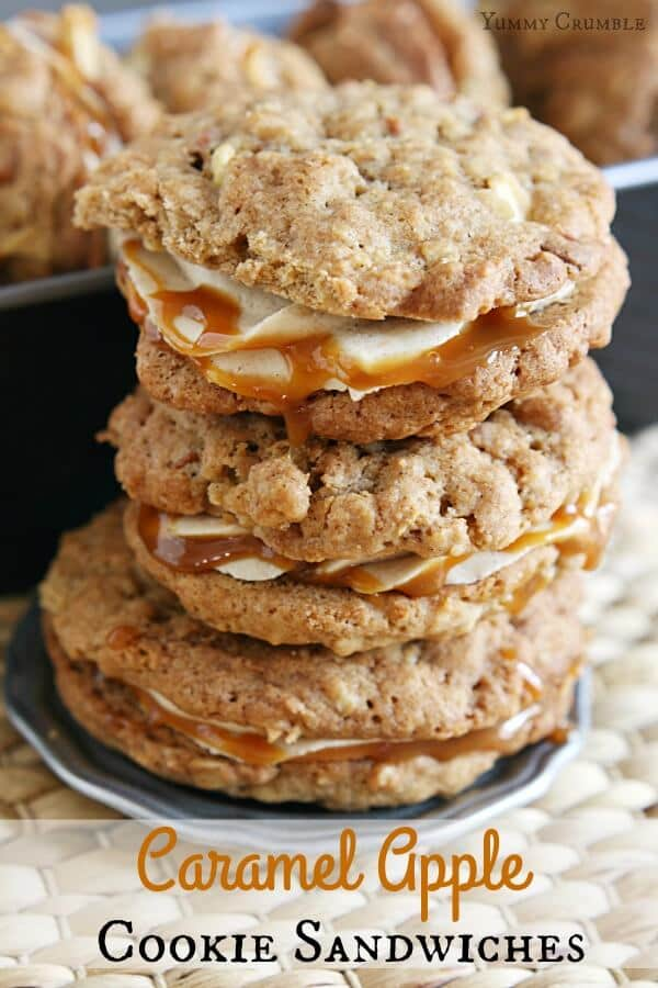 caramel-apple-cookie-sandwiches-recipe