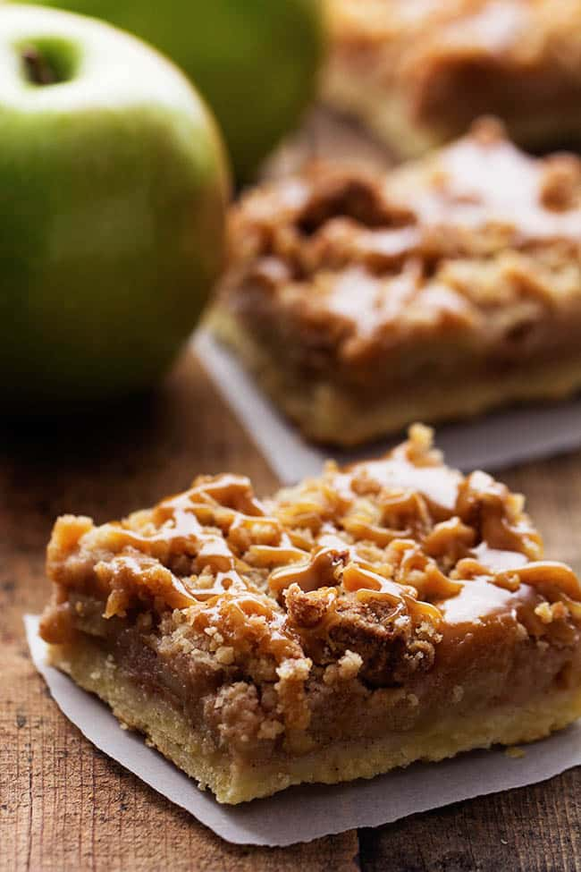 dutchcaramelapplepiebars