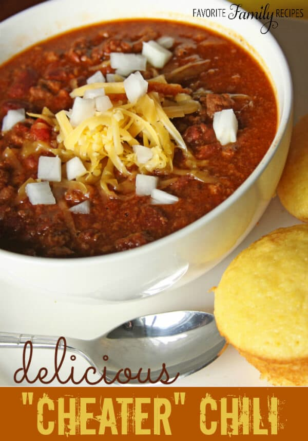 Easy Cheater Chili