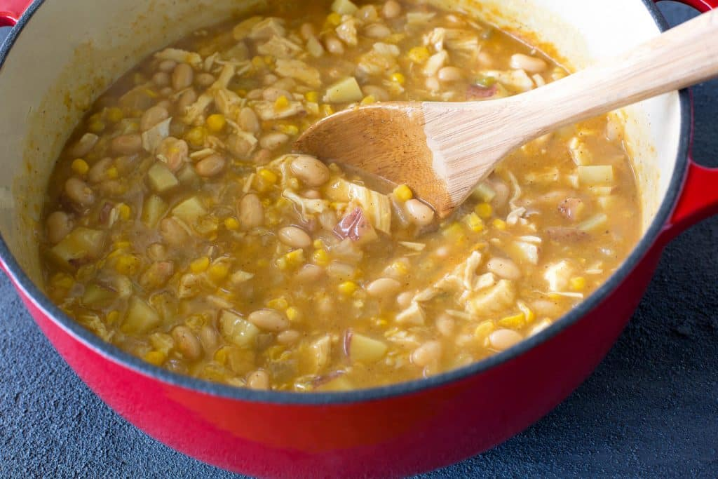 Chicken Chili Chowder - hearty, easy, and comfort food at its best. the-girl-who-ate-everything.com