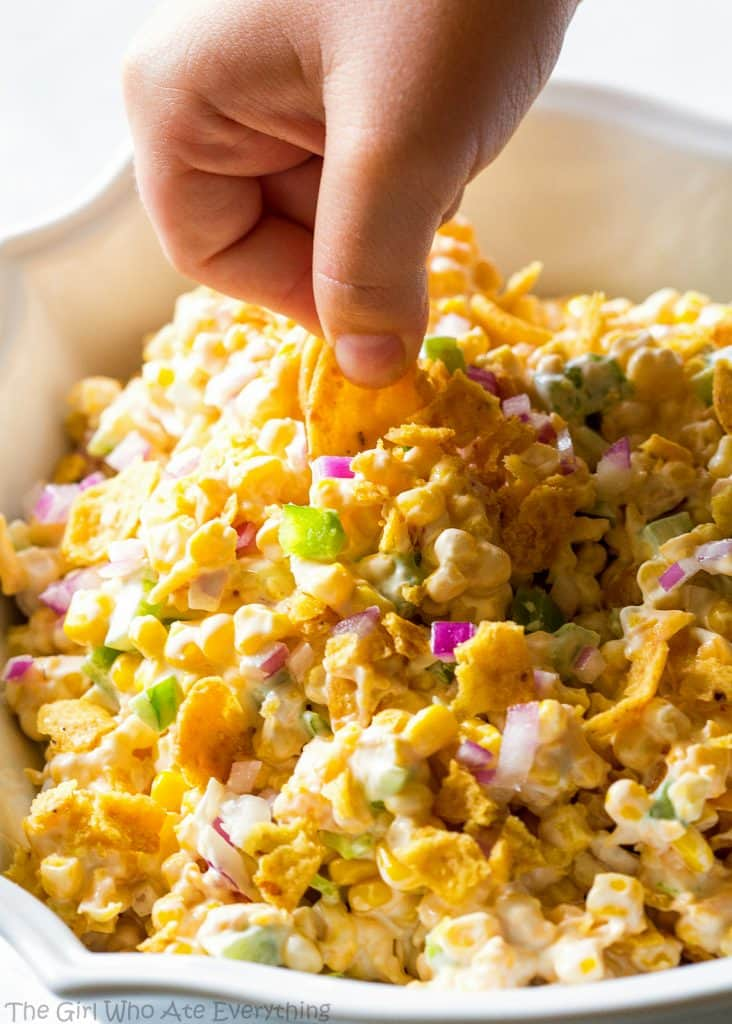Frito Corn Salad Recipe - The Girl Who Ate Everything