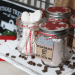 Homemade Hot Cocoa Mix | Free Printable Tags | Mason Jar Gift Ideas