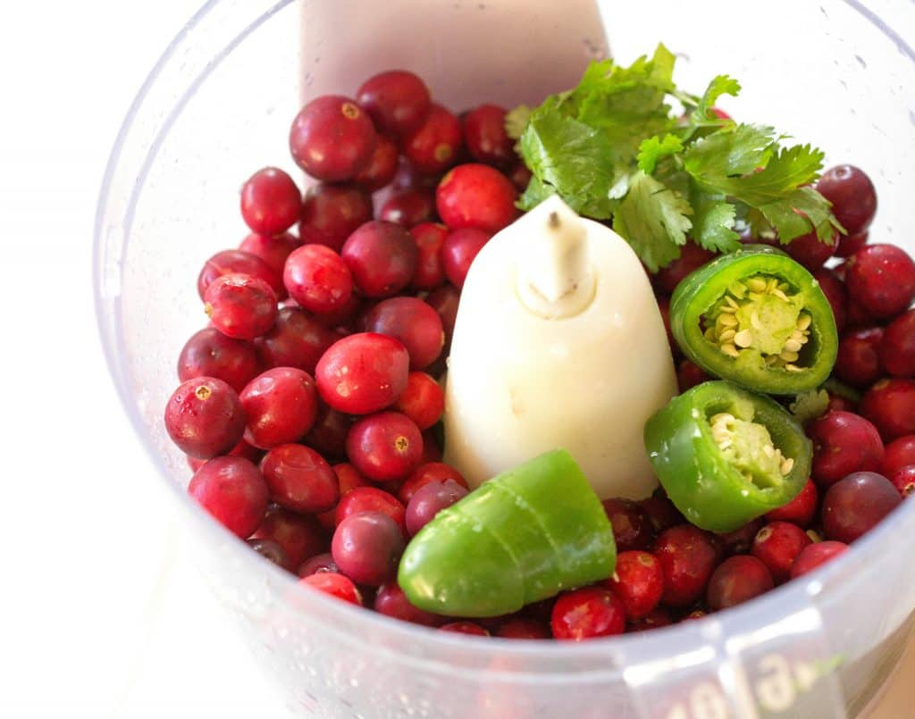 jalapenos and cranberries