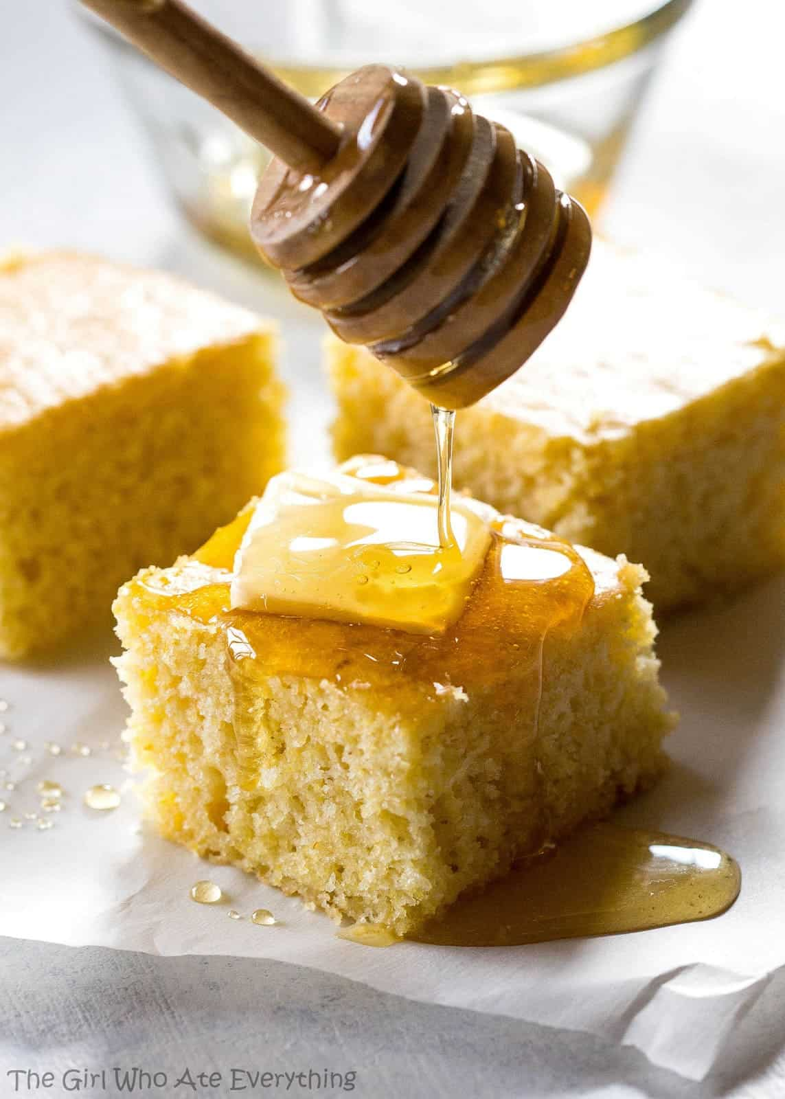 The Best Sweet Cornbread The Girl Who Ate Everything