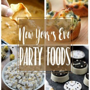 New Year's Eve Party Foods | Appetizers, dips, desserts