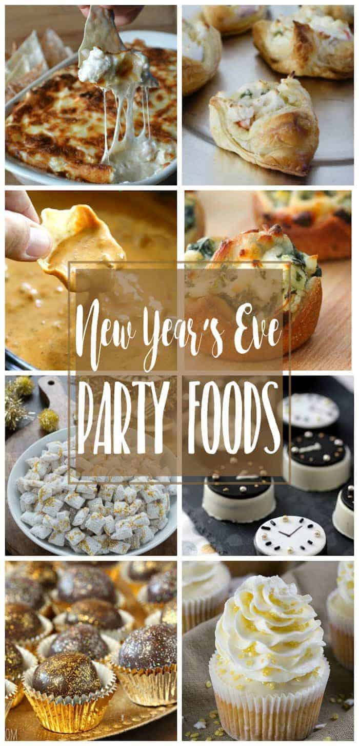 Dinner Ideas For New Years Eve Party Part - 19: New Yearu0027s Eve Party Foods | Appetizers, Dips, Desserts
