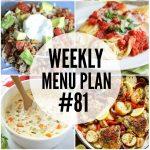 Weekly Menu #81