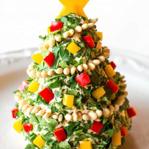 Christmas Tree Food.Christmas Cheese Tree