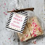 Marshmallow Treat Valentines