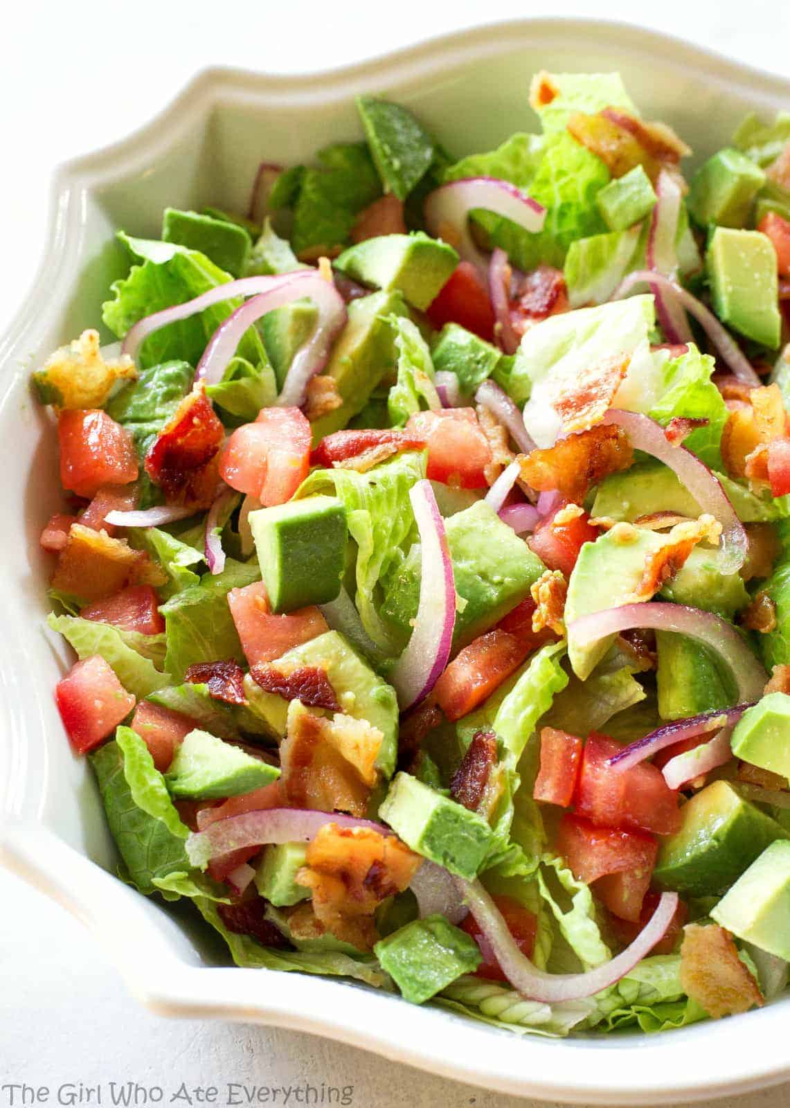 Guacamole Tossed Salad Recipe The Girl Who Ate Everything