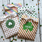 Printable St. Patrick's Day Treat Bags
