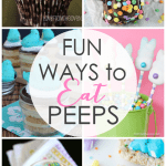 Fun Ways to Eat Peeps - From chocolate covered Peeps to Peeps S'mores - there's may fun ways toe at Peeps