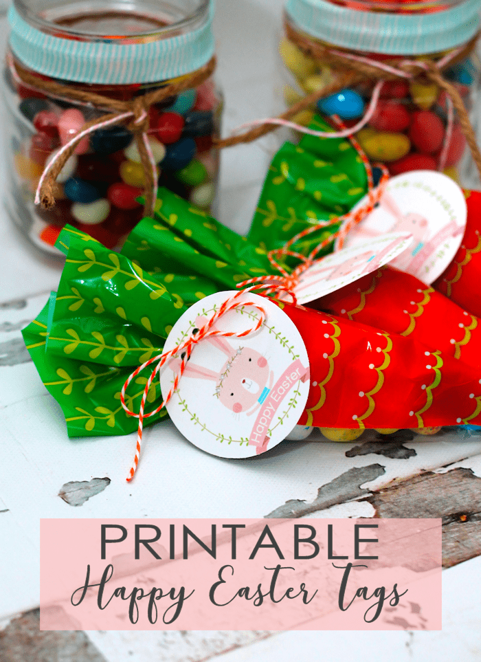 Printable Happy Easter Tags | Free Easter Printables