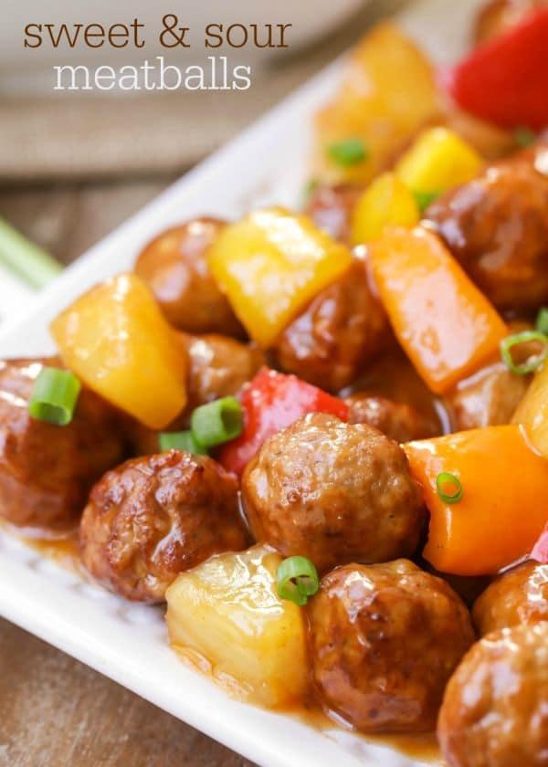 Sweet & Sour Meatballs - Lil' Luna (1)