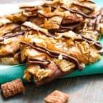 Salted Caramel Chocolate Coconut Bark