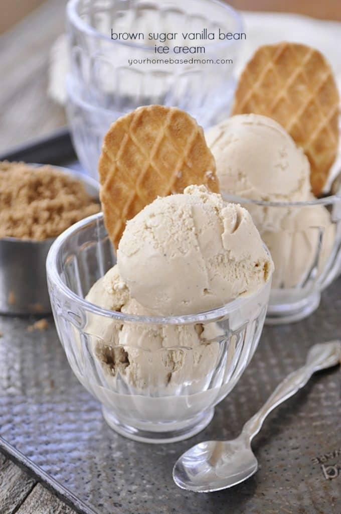 brown sugar vanilla bean ice cream