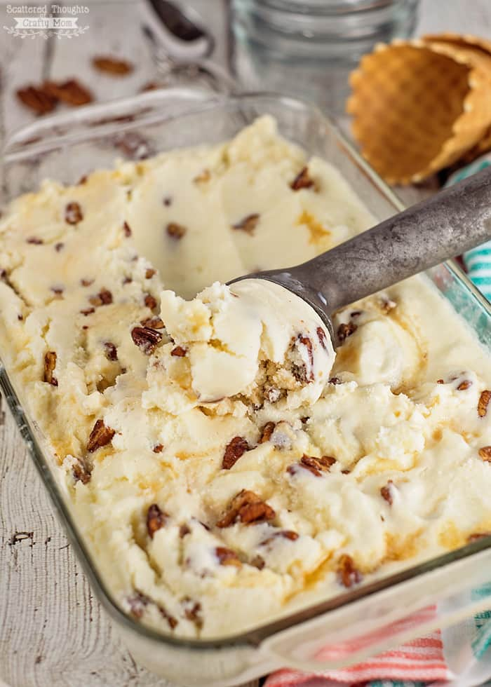 Mom 39 s favorite desserts the girl who ate everything for Homemade butter pecan ice cream recipe
