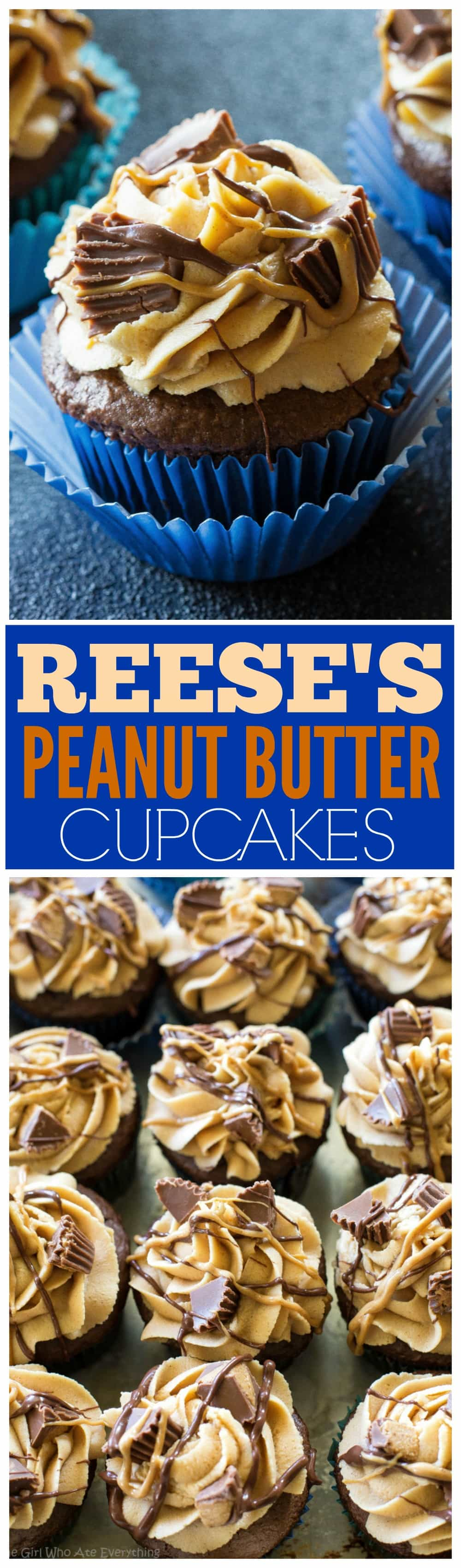 reese\'s peanut butter cup filled cupcakes