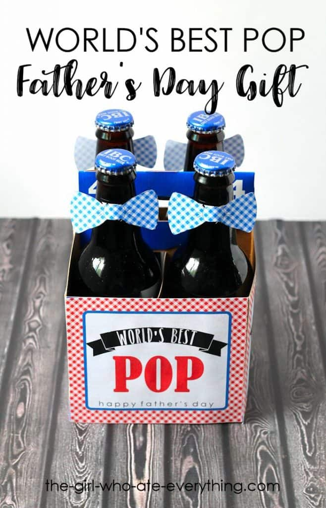 World's Best Pop Father's Day Gift with Printables
