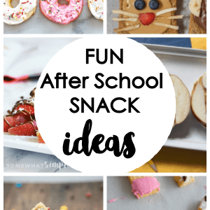 Fun After School Snack Ideas | Creative Snacks for Kids