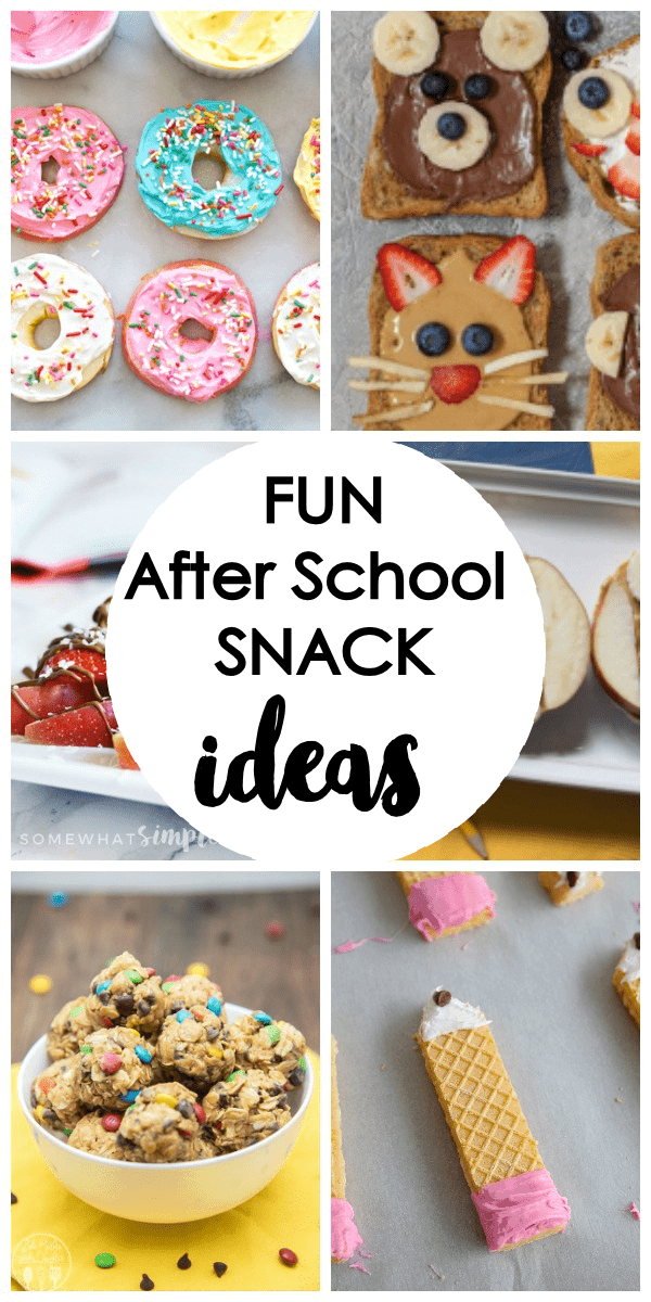 25 Fun After School Snack Ideas - The Girl Who Ate Everything