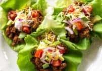 Easy Taco Lettuce Wraps