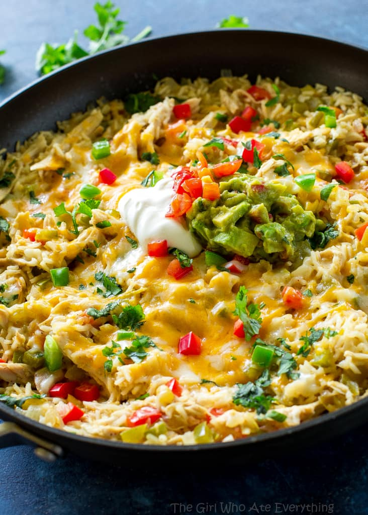 One-Pan Chicken Fajita Rice
