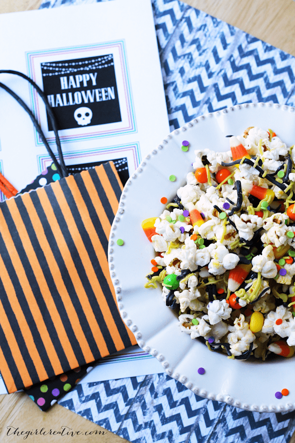 Monster Party Mix | Halloween Party Foods for Kids