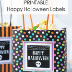 Monster Party Mix | Free Printable Halloween Tags and Labels