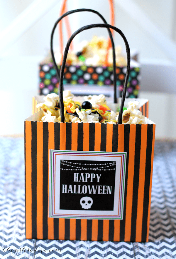Monster Snack Mix for Halloween