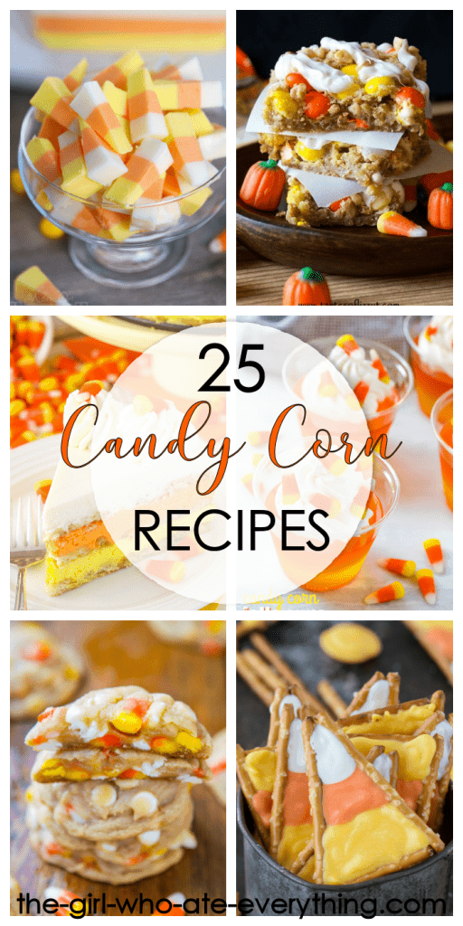 25 Candy Corn Inspired Recipes | Fun and festive Fall Dessert Ideas | Halloween Treats